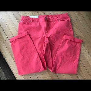 NWT j. jill boyfriend pants